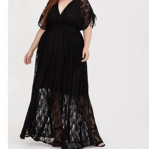 Torrid Lace Maxi Dress